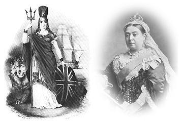 Britania & Queen Victoria