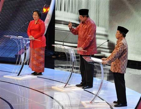 Debat Capres Putaran Final di Balai Sarbini