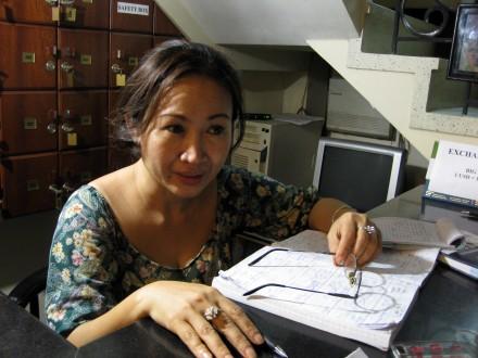 Ibu Pengelola Losmen Ngoc Minh
