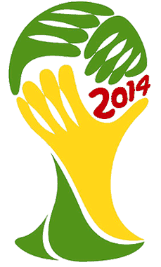 Logo Piala Dunia Brazil 2014