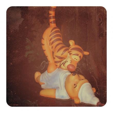 Winnie the Pooh and Tigger at Disneyland
