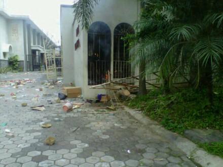 Pembakaran Gereja Katholik Temanggung