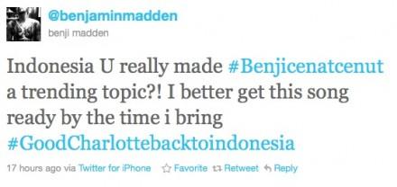 Benji masuk Trending Topic siap nyanyikan SM*SH