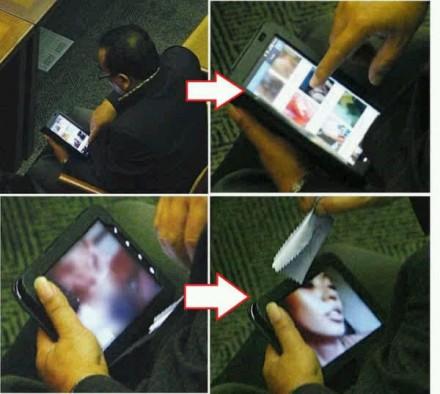 Arifinto PKS tertangkap kamera memilih gambar porno