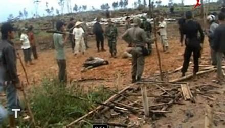 Pembantaian di Mesuji Lampung Tengah