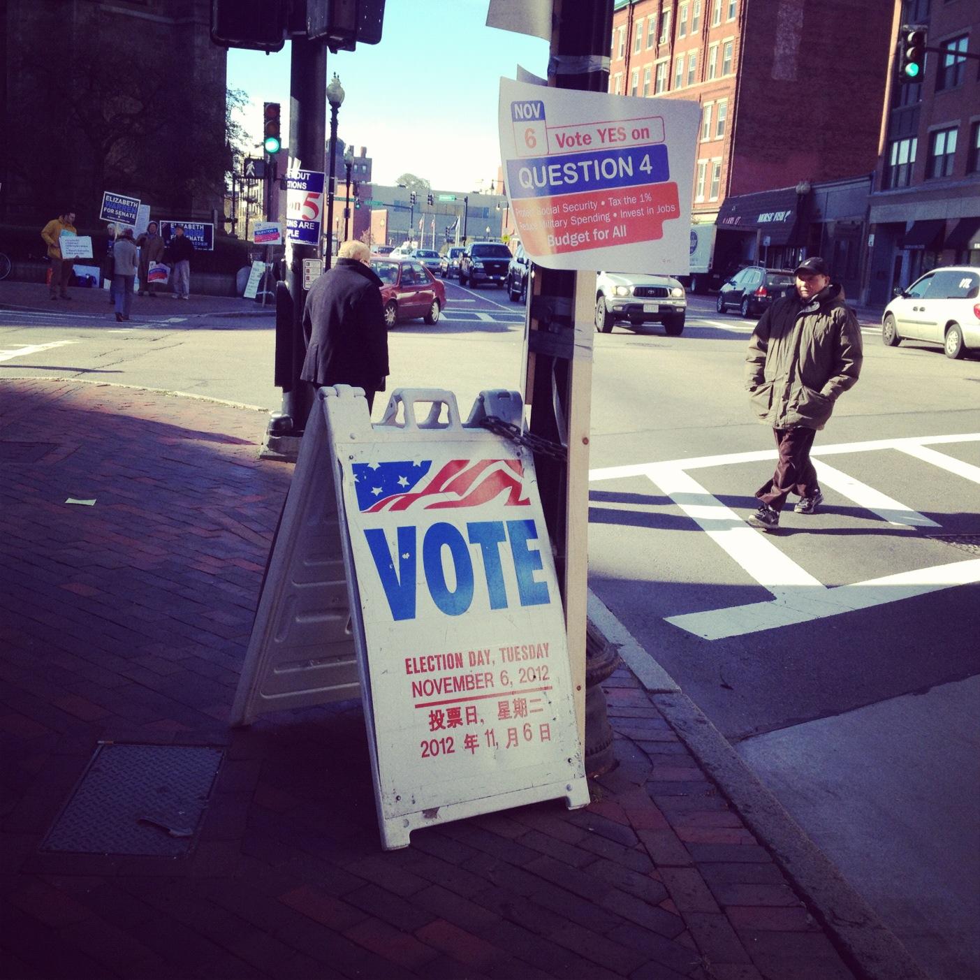 Pagi Pemilu Itu di Boston