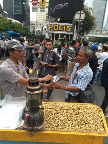 Jakarta Bomb Peanuts Kacang