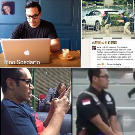 Polisi Ganteng Bom Sarinah